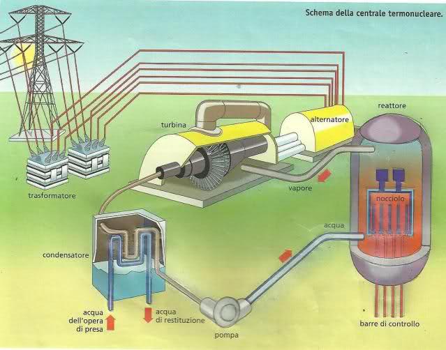 Reattore Nucleare Ad Acqua Bollente.Come Funziona E Com E Strutturata Una Centrale Termonucleare