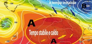 Alta e bassa pressione - Tempo Stabile e Tempo Instabile