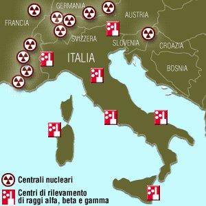 Sorgenti di Radiazioni in Italia